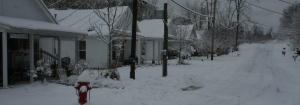 Our First Winter at Eclipse Company Town