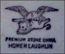 Homer Laughlin Backstamp