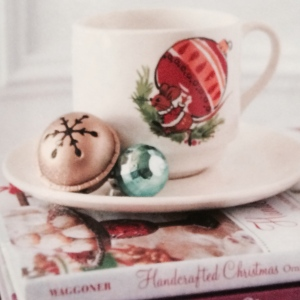 Christmas Mouse Featured in Romantic Homes Magazine