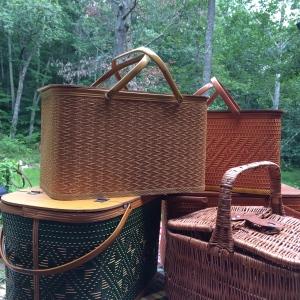 Vintage Picnic Baskets