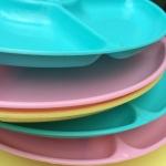 Vintage Lightweight Plastic Plates