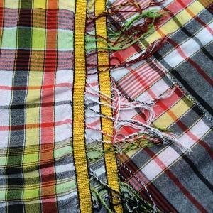 Long Plaid Tablecloth