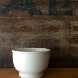 Plain Old White Chili Bowl, Buffalo China