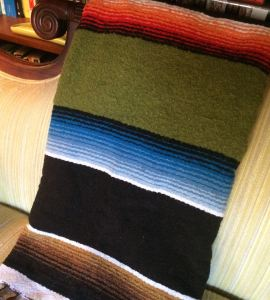 Thick Wool Handwoven Rug